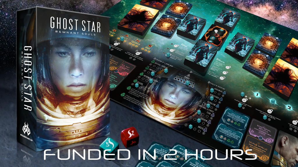 Ghost Star - A solo board game you won't want to play alone