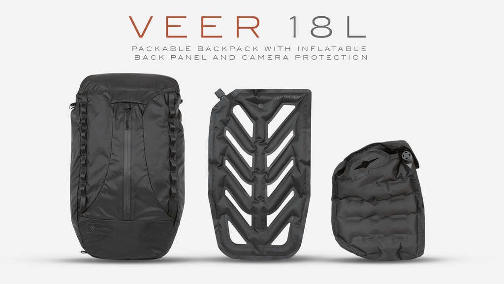 VEER 18 | Packable Bag And Inflatable Camera Protection project video thumbnail