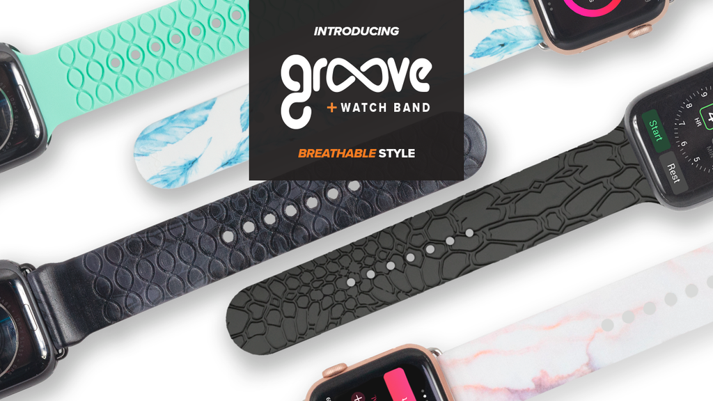 Groove Watch Band - The First Breathable Band with Grooves