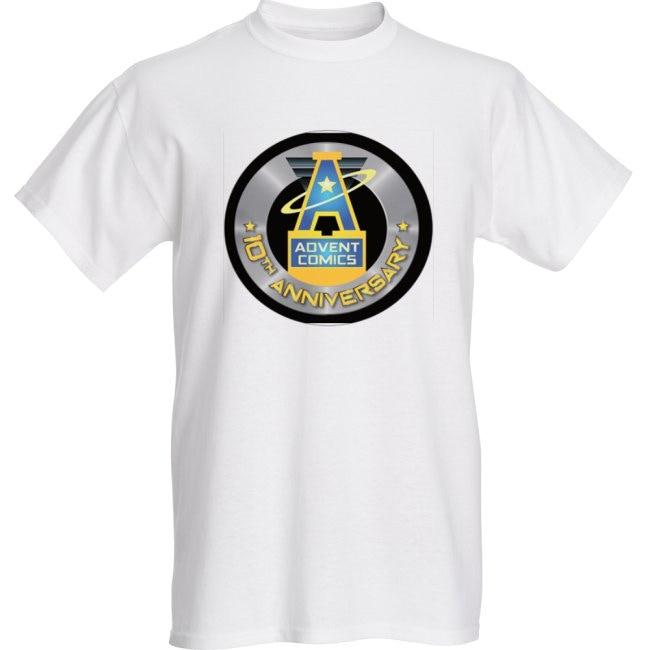 10th Anniversary T-shirt (White) - Sizes S to 3X