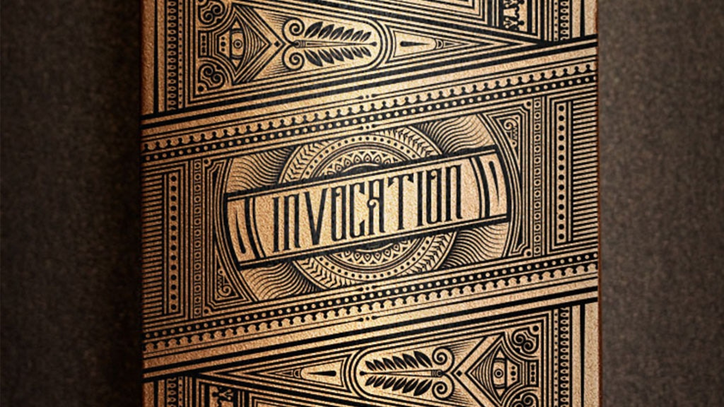 The Invocation - Exquisite, hand illustrated playing cards.