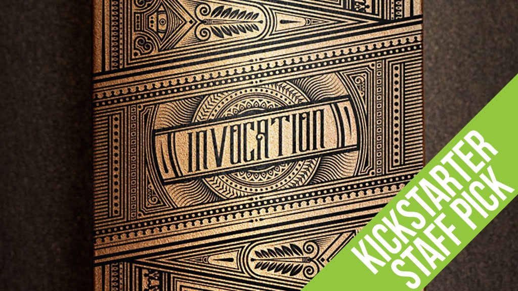 The Invocation - Exquisite, hand illustrated playing cards. project video thumbnail