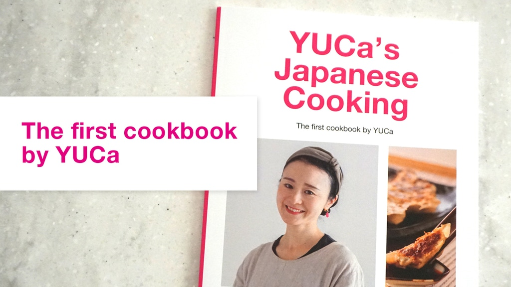 The first cookbook by YUCa