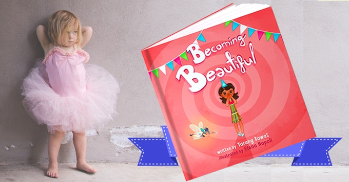 Becoming Beautiful – is a colorful, inspirational, children's picture book for 3-9 year old girls that teaches positive body image and self-confidence.