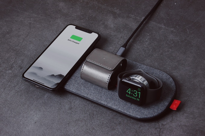 SliceCharge Pro can charge your iPhone, Apple Watch & AirPods at the same time.