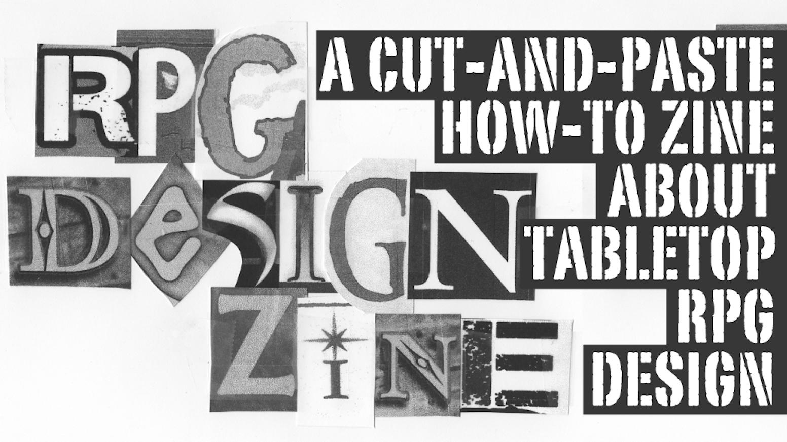 RPG Design Zine by Nathan D  Paoletta — Kickstarter