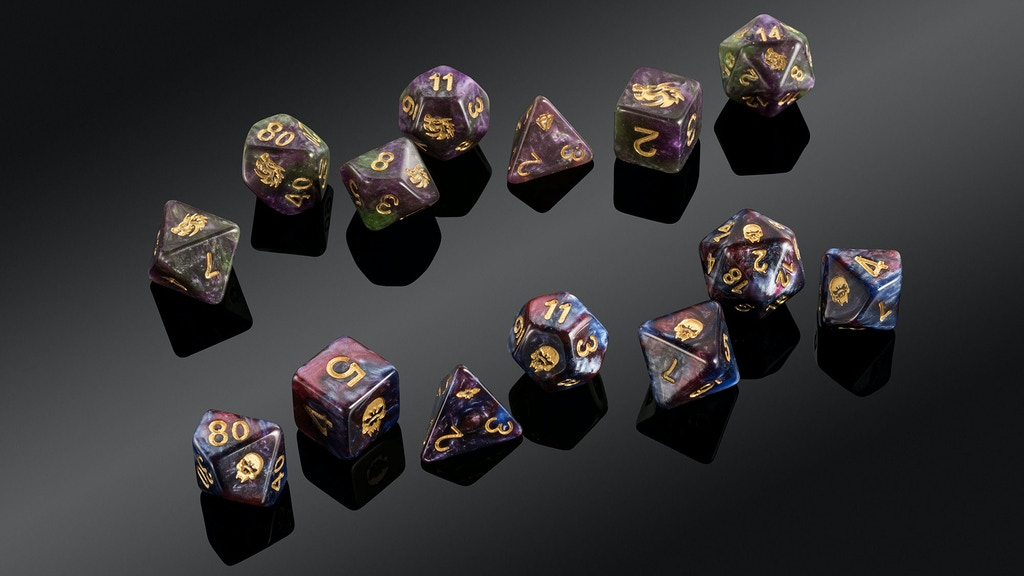 """The """"Spirit Of"""" Series 3 Dice Range project video thumbnail"""