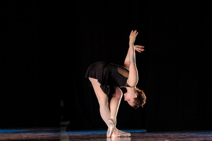"Chantelle Pianetta in Milissa Payne Bradley's ""Enough Said"" at ""Best of the West"" Performance at the Saroyan Theater in Fresno, CA. Photo: Arthur Robinson"