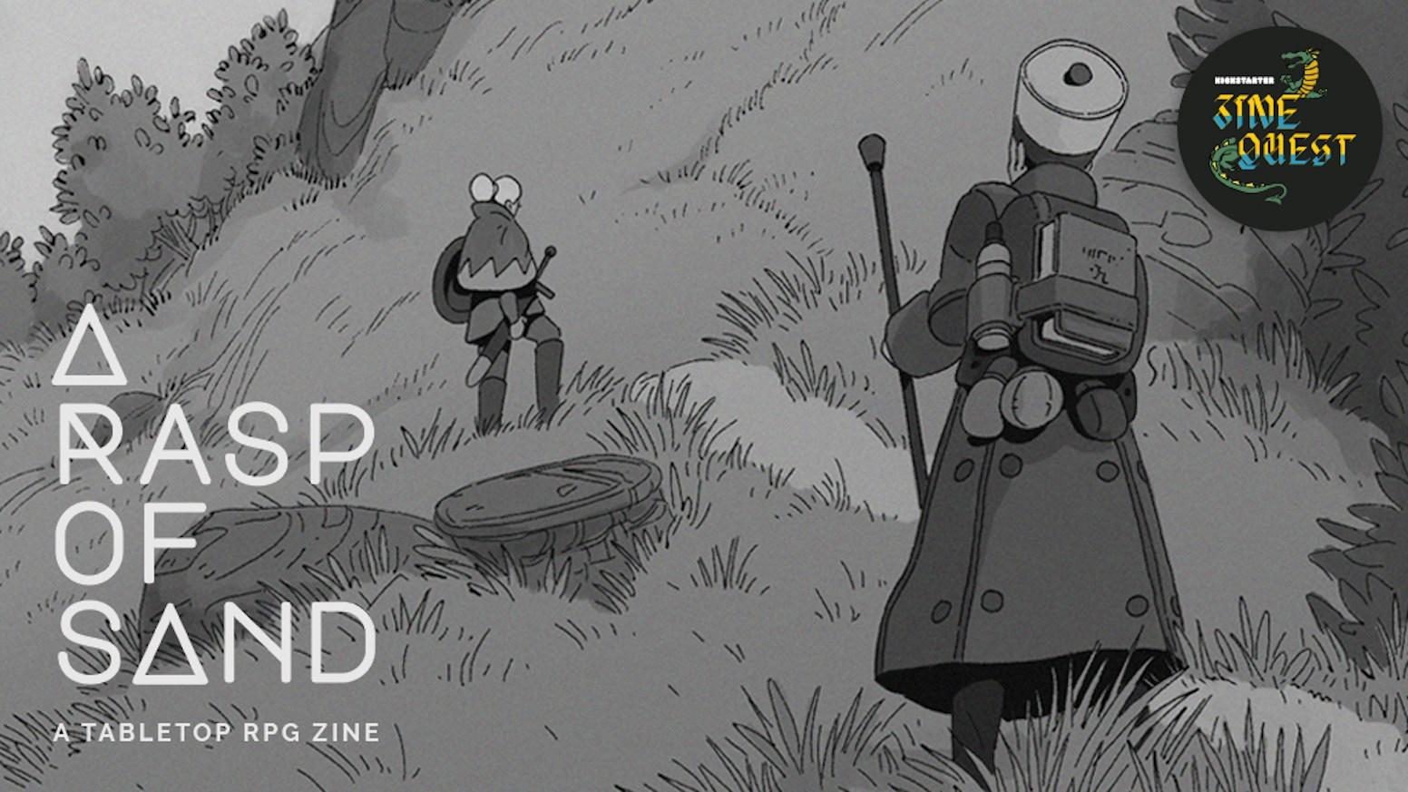 A Rasp of Sand: A Roguelike Tabletop RPG Experience by David Cox — Kickstarter