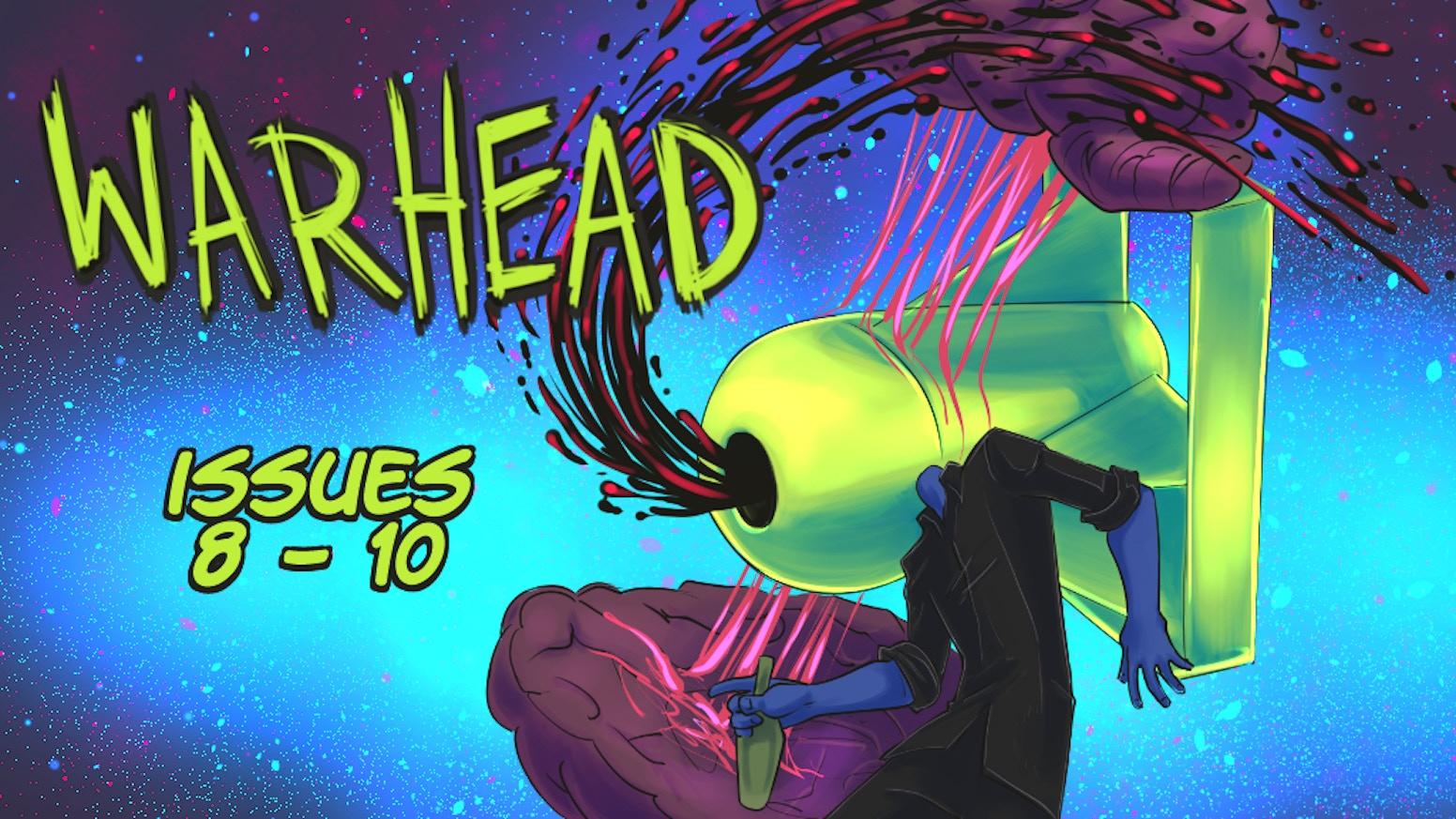 WARHEAD Issues 8, 9 & 10!