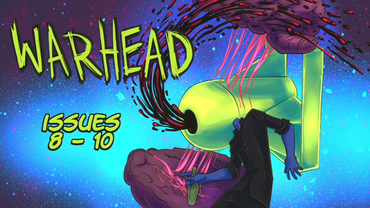 WARHEAD Issues 8, 9 & 10!