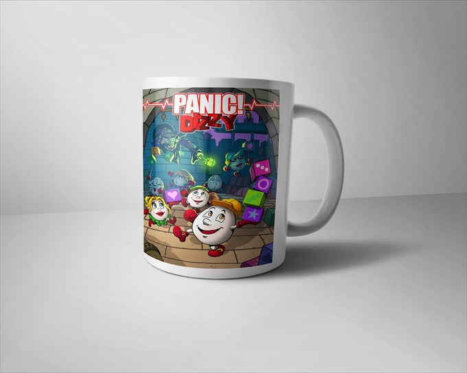 Illustrative Panic! Dizzy Mug