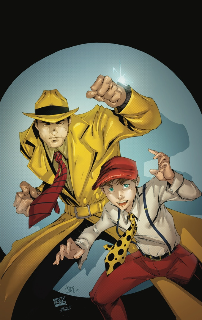 Dick Tracy #1 Variant after Jim Lee for Unknown Comics