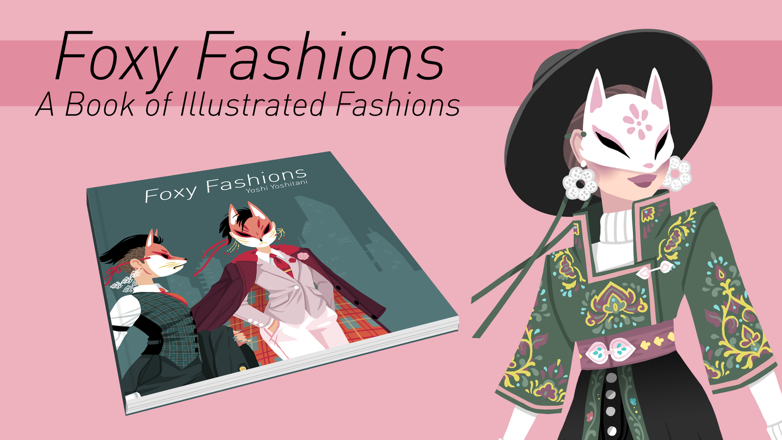 A Book of Illustrated Fashions