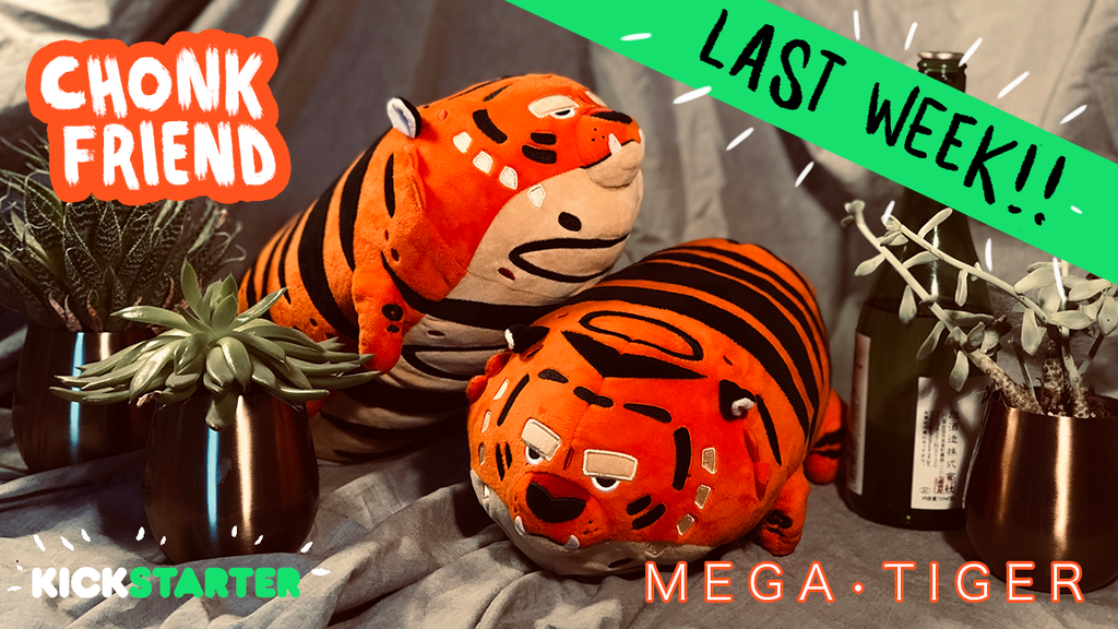 Chonk Friend - MEGA TIGER Plush! project video thumbnail