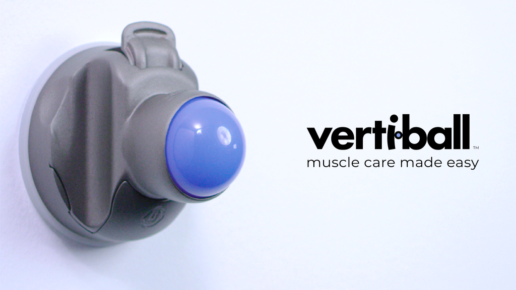 Vertiball | The World's First Mobile Mounting Massager