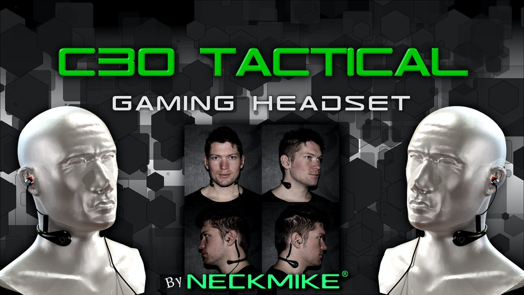 Military grade tactical headset