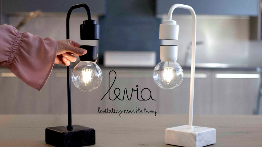 Levia - Unique levitating marble lamp project video thumbnail