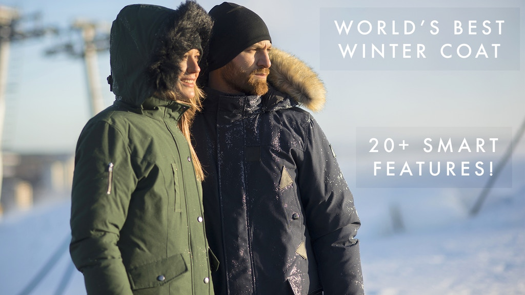 Norrland Parka - World's Best Winter Coat With 20+ Feautures
