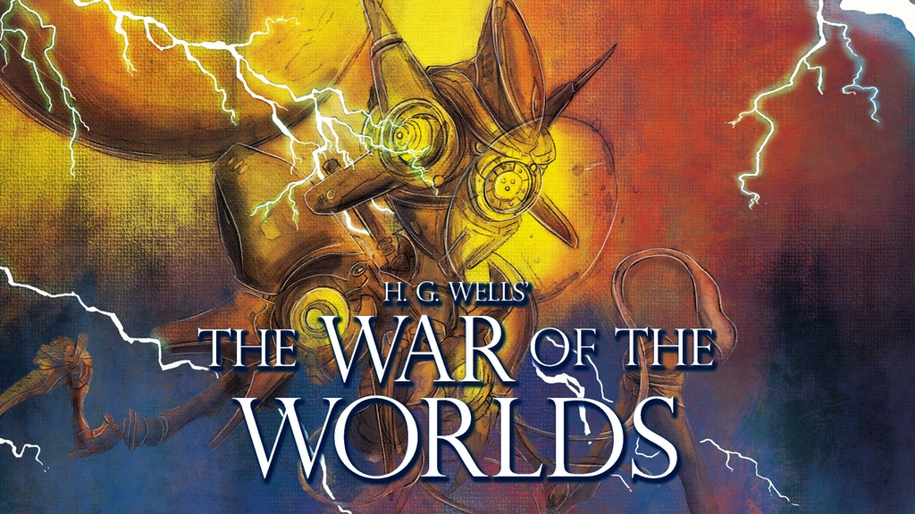 H. G. Wells' The War of the Worlds: Concertina Book project video thumbnail