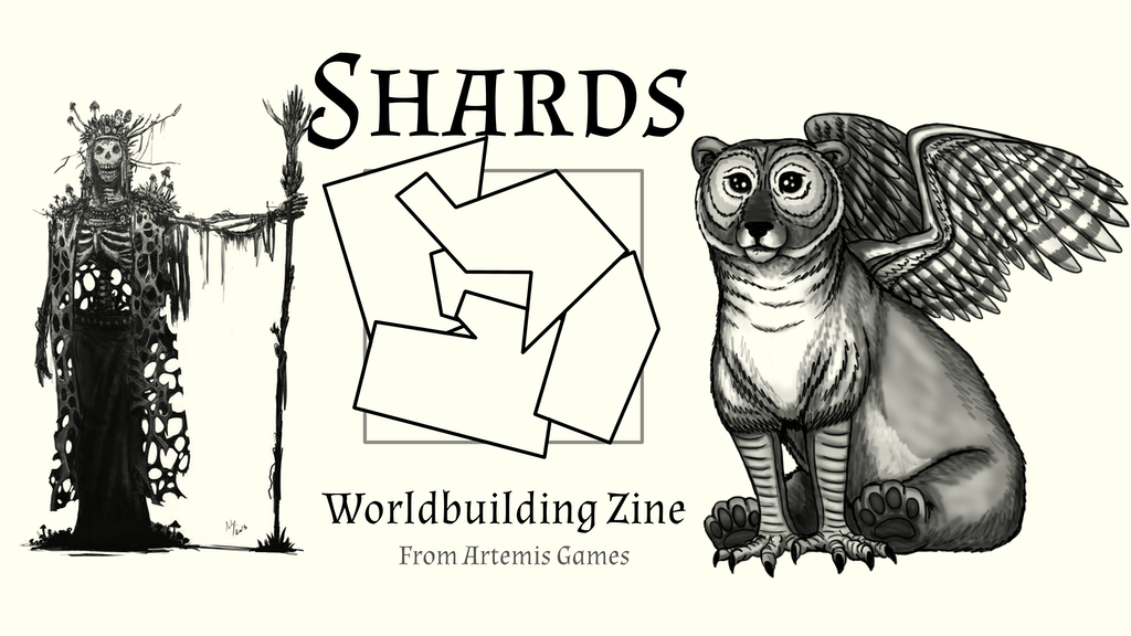 Shards: Worldbuilding Zine - Quickstarter