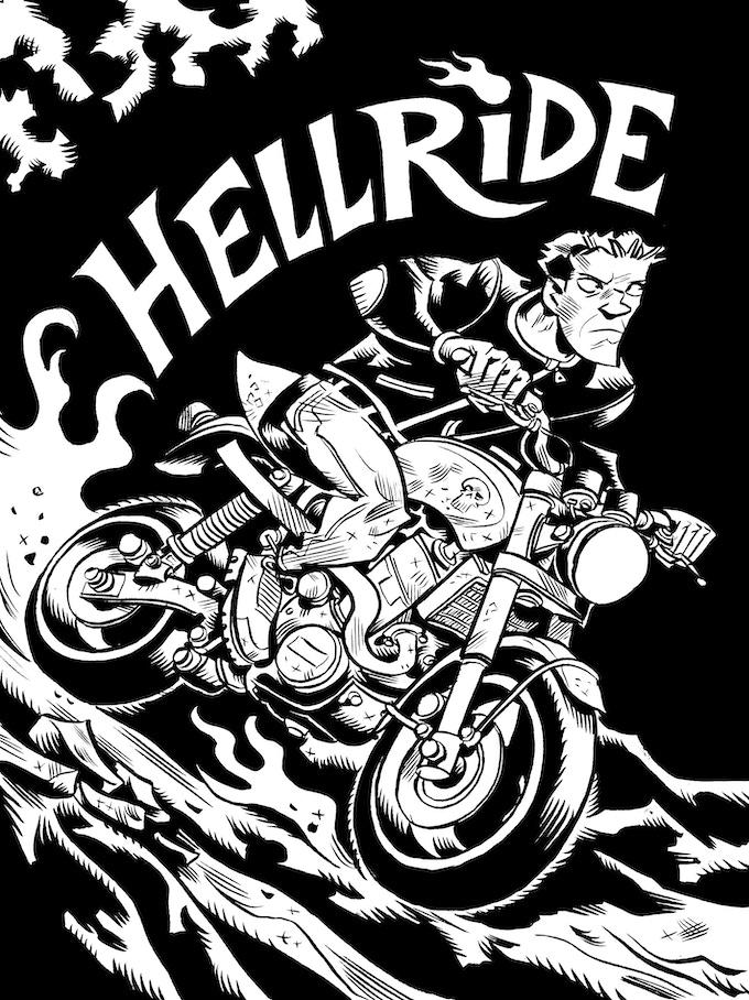 Hellride cover.