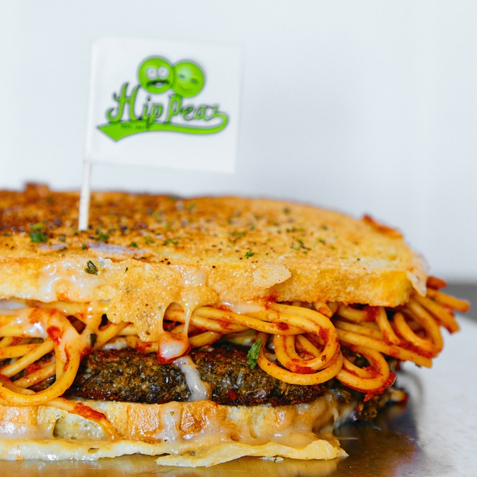 Our sketti burger