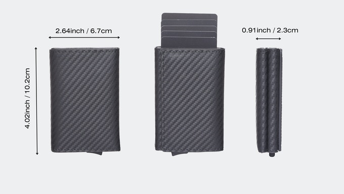 Urban X Max wallet size