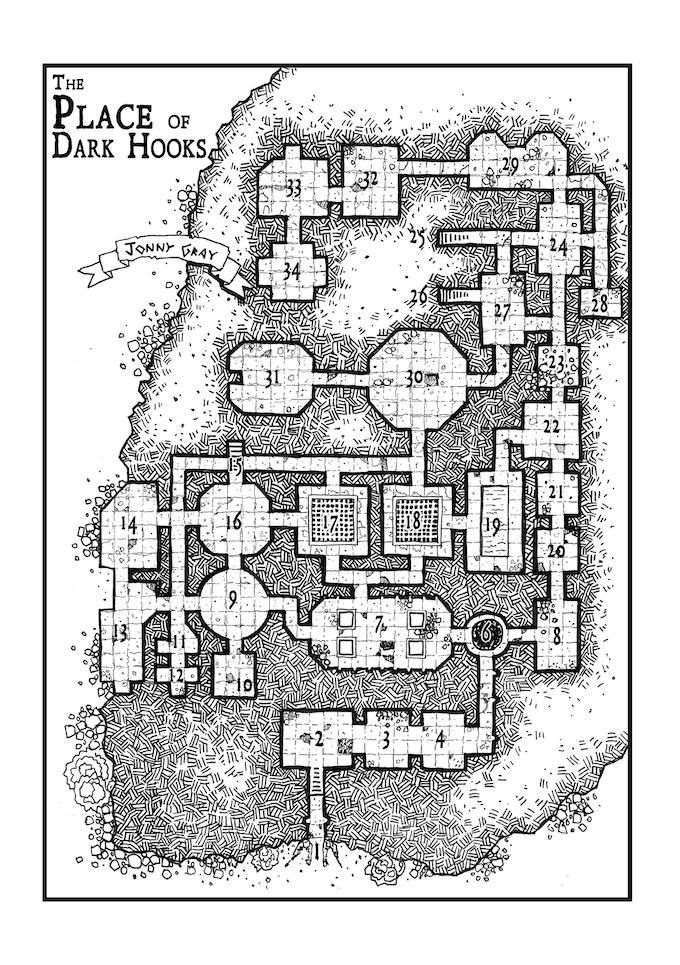 Map by Jonny Gray