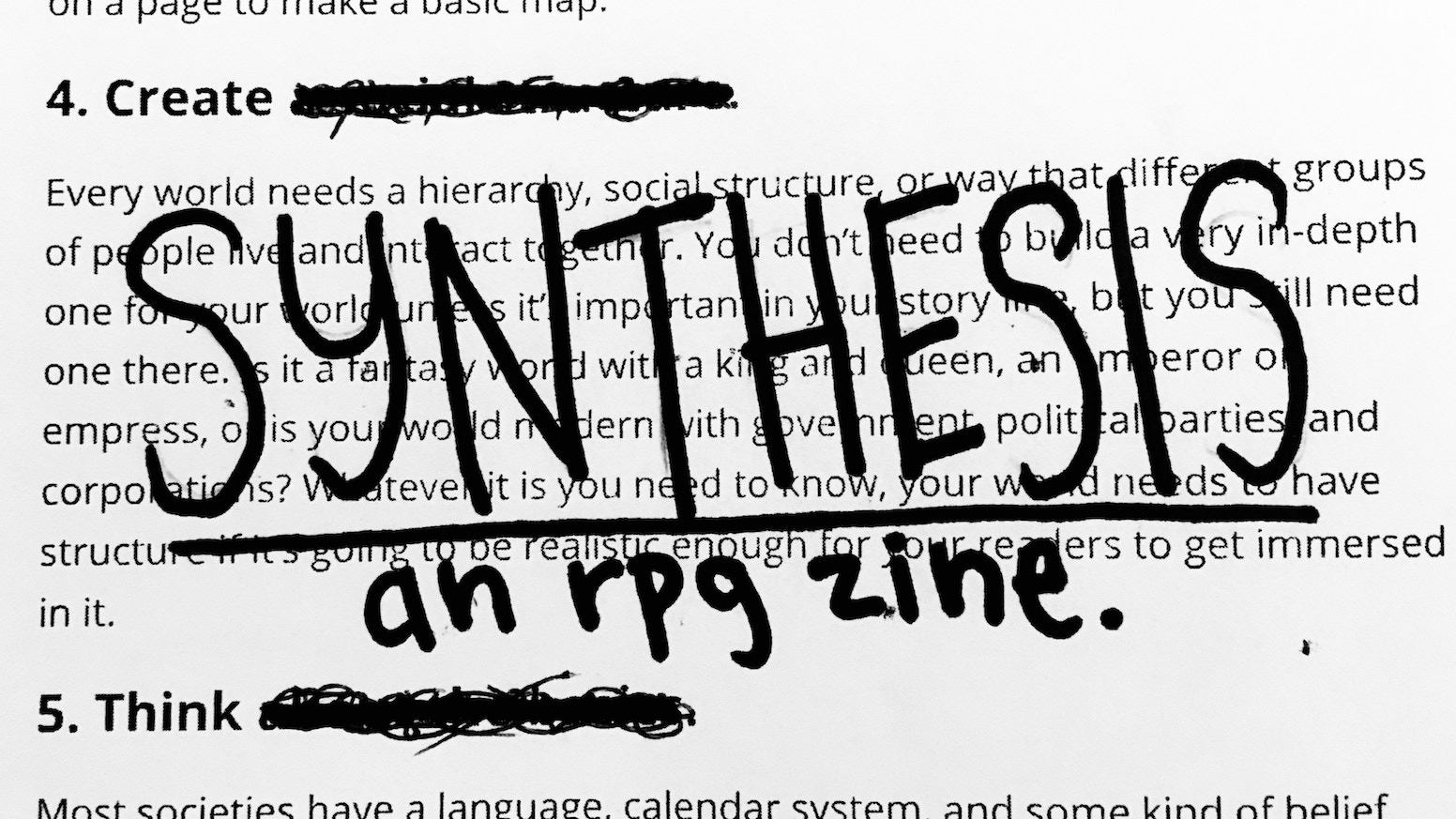 a #zinequest full of mini-rpgs about metatextuality, perspective, and creating new meanings.