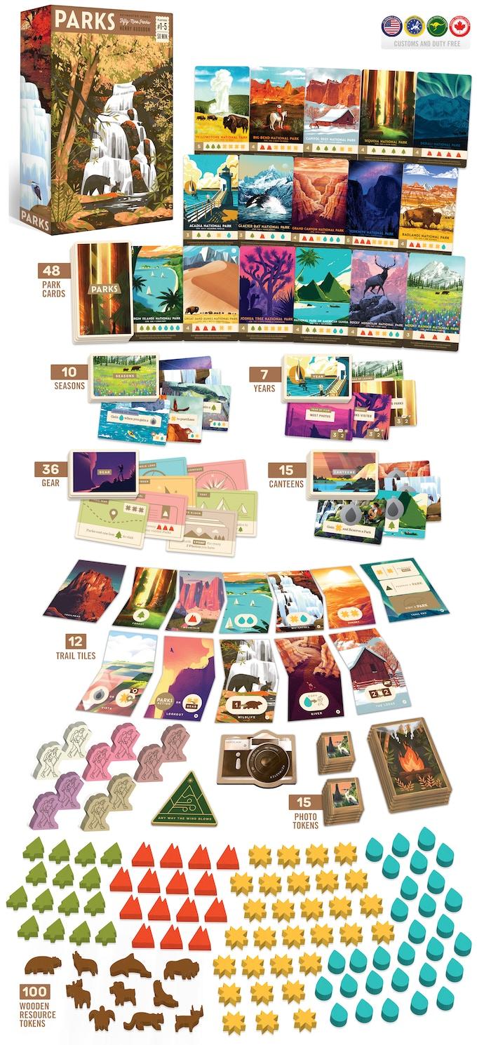 PARKS: The Board Game by Keymaster Games — Kickstarter