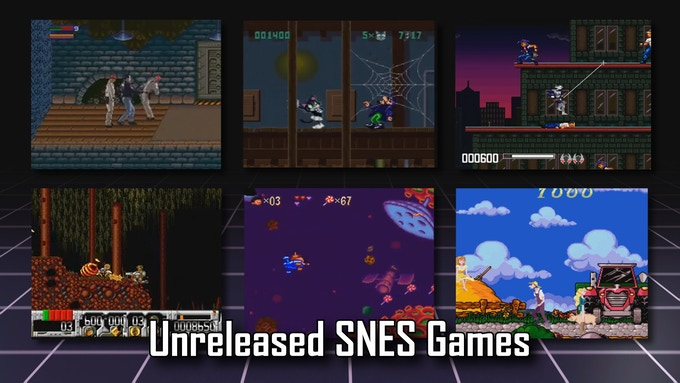 Special section featuring unreleased Super NES titles!