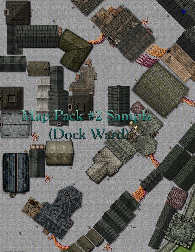 Waterdeep: Dragonheist City Maps