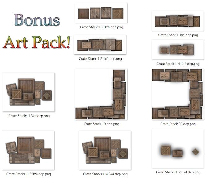 Bonus Art Packs