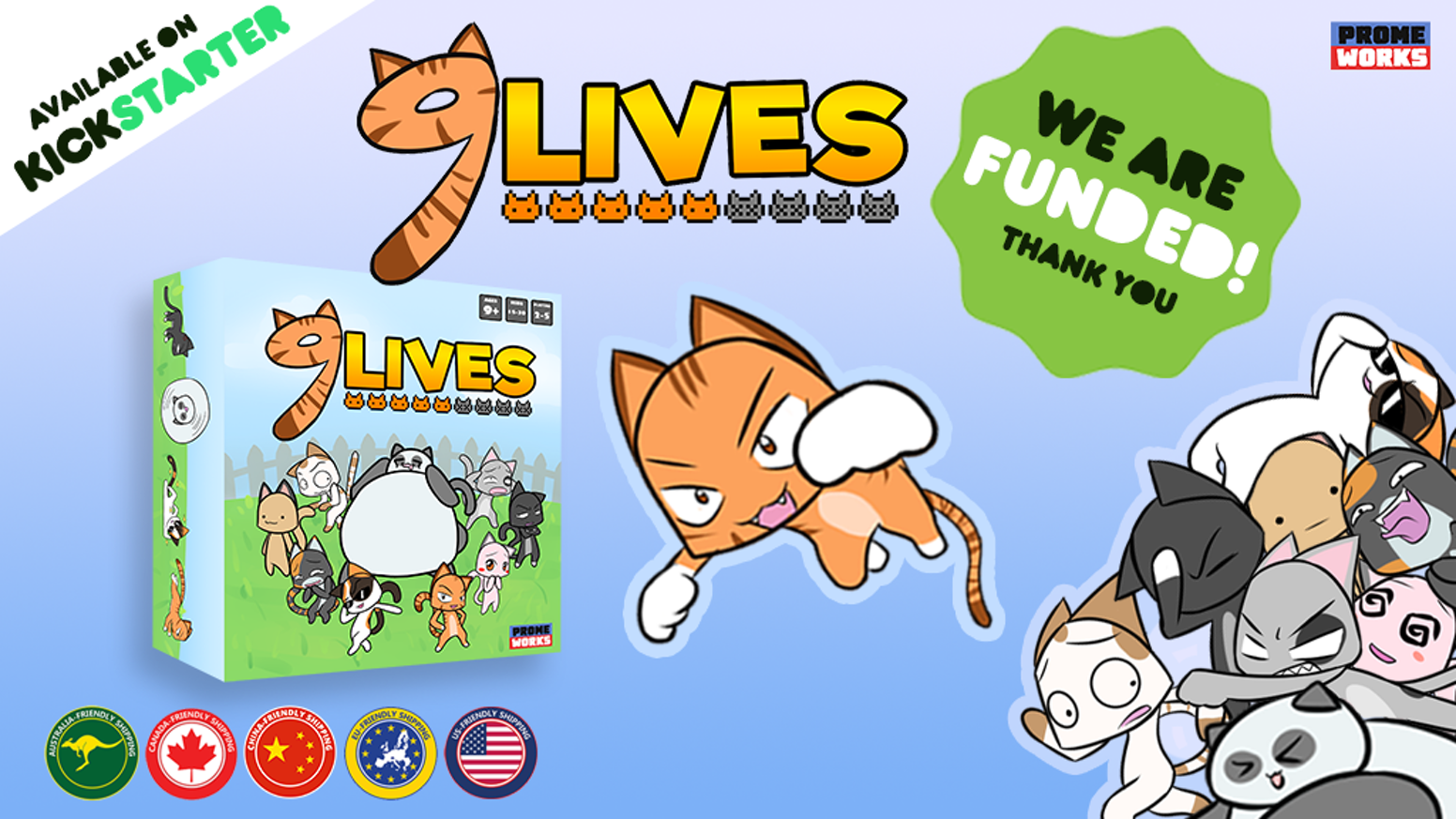 A card game for cat-lovers, cat-haters, and cat-neutral people. Even dog people will love it.