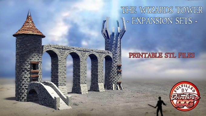 The Wizard's Tower - Bridge Expansion - 2nd Campaign - Click the picture to visit the campaign.
