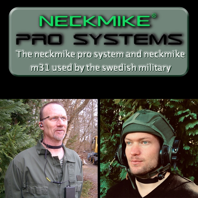 Used by Swedish armored vehicles forces and air-force firefighters among others.