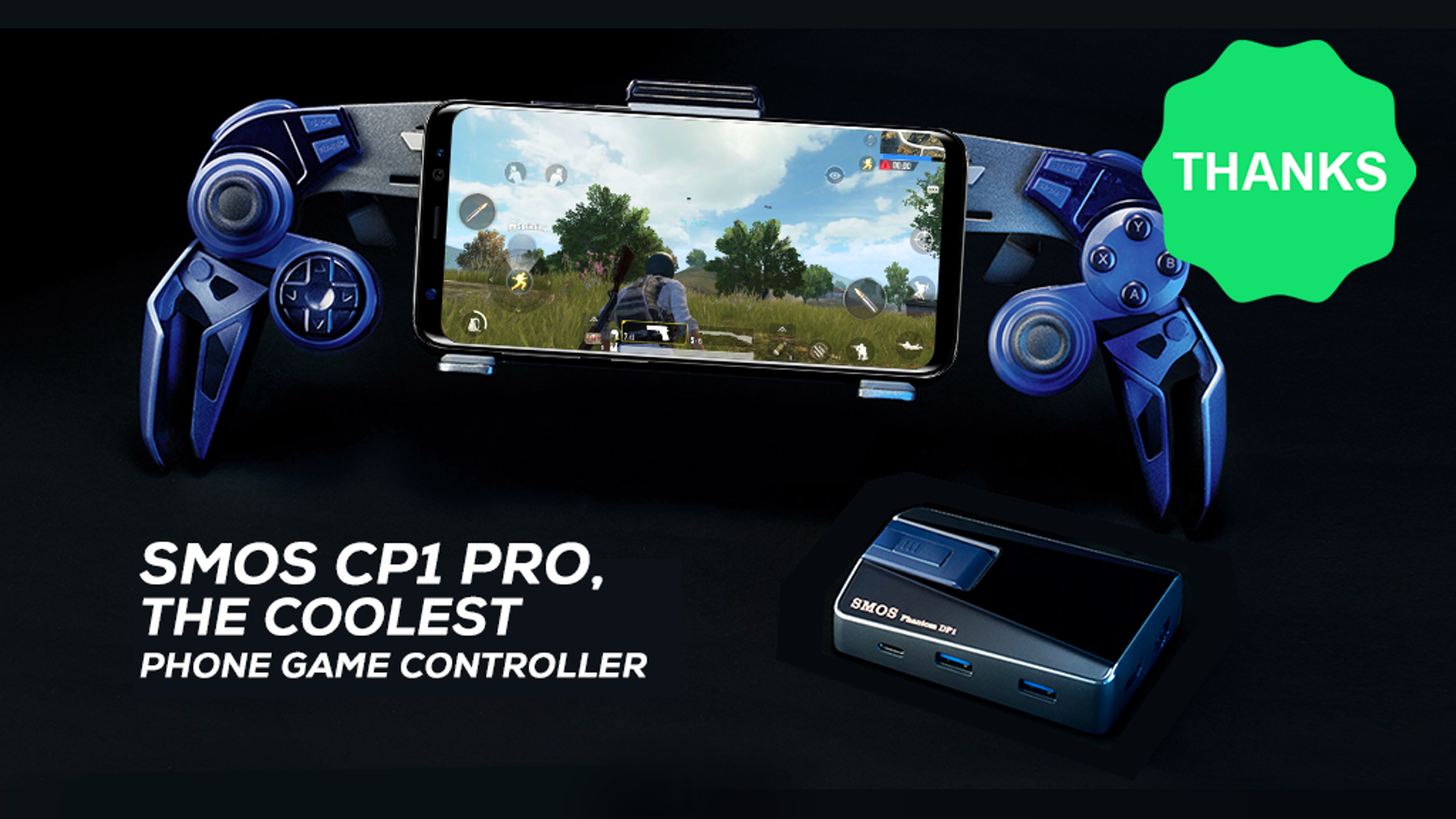 SMOS CP1 Pro, the Coolest Phone Game Controller by SMOS
