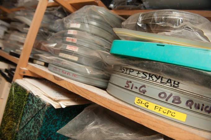 Tons of old reels...