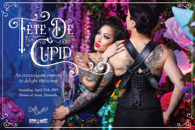 Fête de Cupid, our boutique-raising party, in collaboration with Mystic Midway. Photo © John Carey.