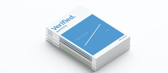 Verified. Our quarterly magazine of the latest insights and facts