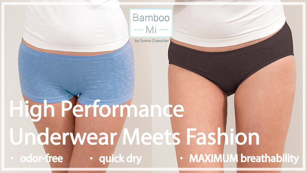 The only Sweat-Free Underwear you need