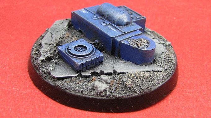 50mm Ruined City objective marker