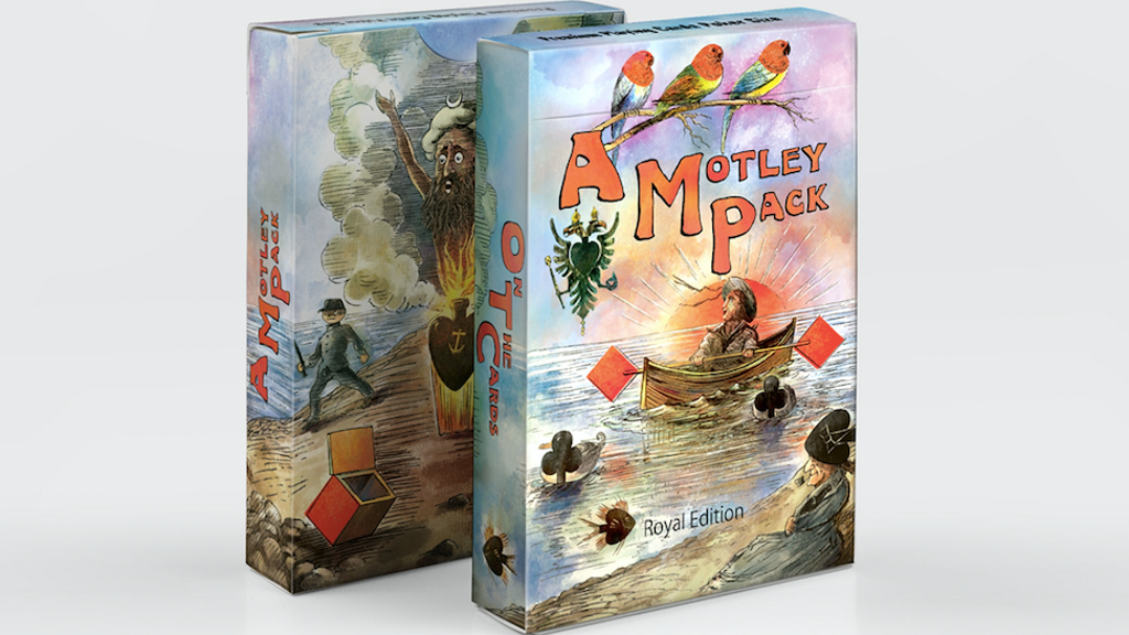 A Motley Pack -Transformation Playing Cards & Book project video thumbnail