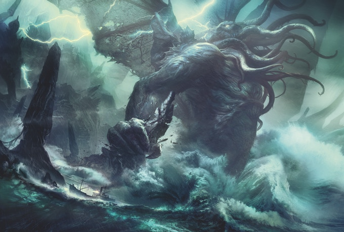 The Call of Cthulhu - Illustrated by Baranger by Fria Ligan