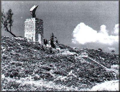 Das Denkmal kurz nach seiner Errichtung