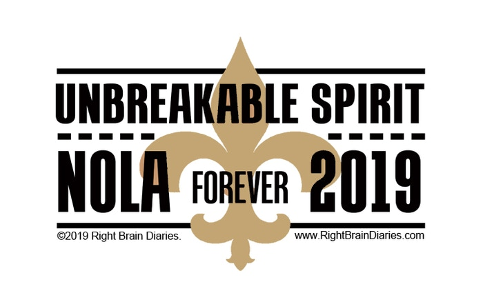 Mourning the untimely ending to the Saints season in a quintessentially New Orleans fashion, on Blackout & Gold Sunday.