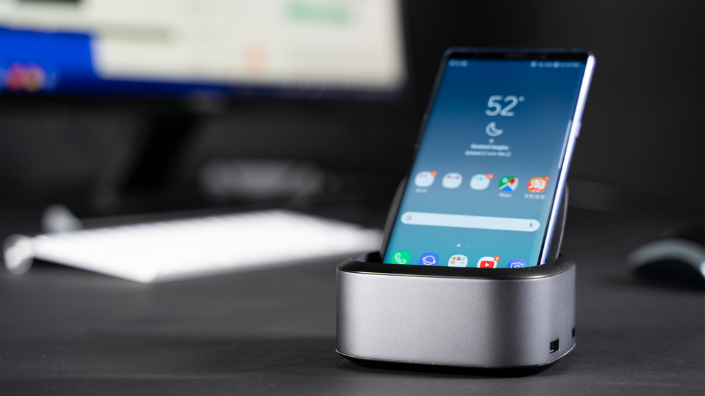 NuDock: A Dock that Turns Your Smartphone To A Computer