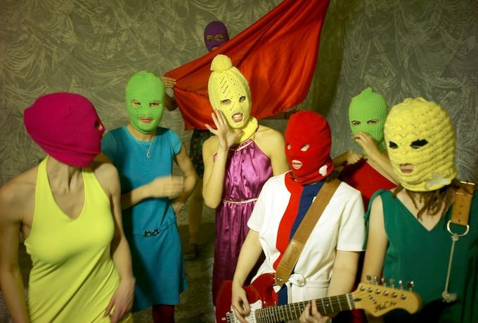 Pussy Riot. Photo by Igor Mukhin