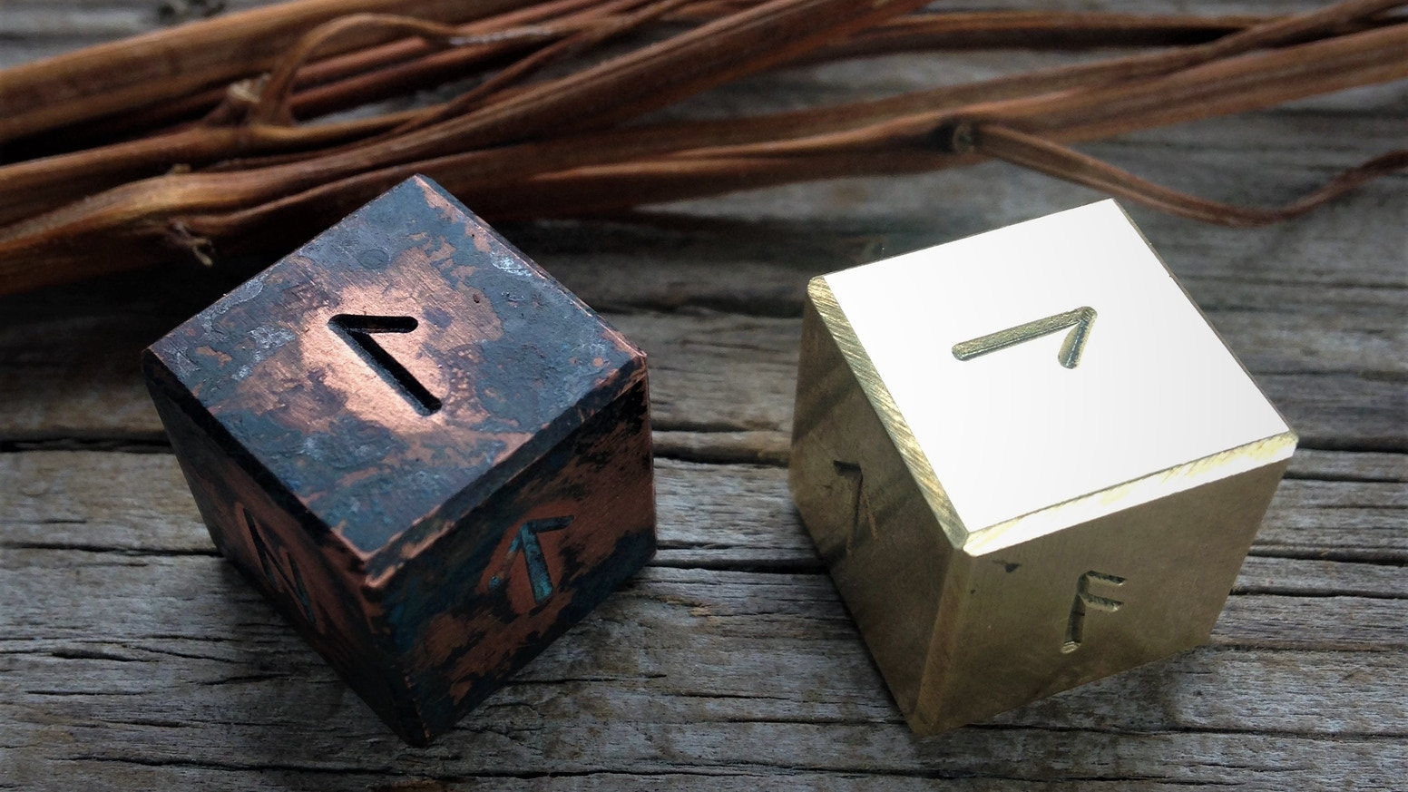 Runic Dice and Iron Runes for Gaming and Spellcraft